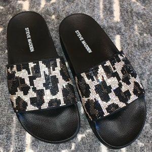 Steve Madden Sammy flip flop - leopard - 6